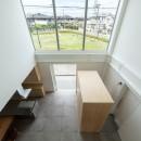 結崎の住宅 / House in Yuzakiの写真 2階 吹抜