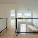 結崎の住宅 / House in Yuzakiの写真 2階 廊下