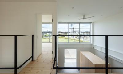 結崎の住宅 / House in Yuzaki (2階 廊下)