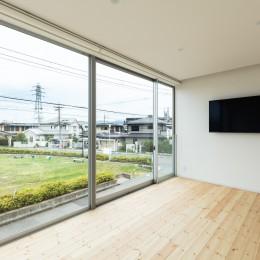 結崎の住宅 / House in Yuzaki (2階 主寝室)