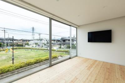 2階 主寝室 (結崎の住宅 / House in Yuzaki)