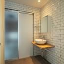 結崎の住宅 / House in Yuzakiの写真 1階 洗面室