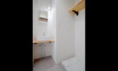 インダストリアル系の賃貸アパートでかっこいい暮らしを。 (サニタリー)