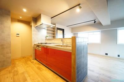 キッチン (『こだわりはVINTAGE×NATURAL』)