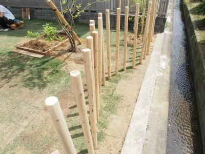 庭 / フェンス (橿原の住宅)