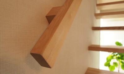 橿原の住宅 (階段 / 手すり)