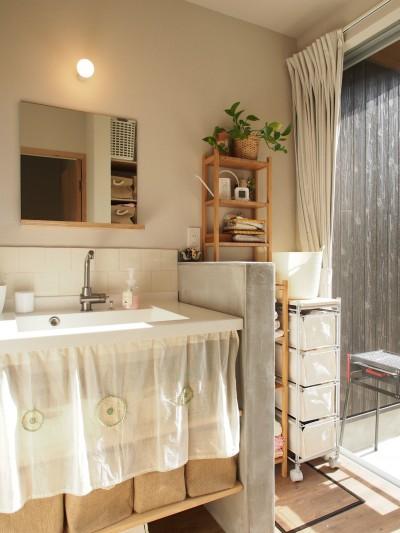 洗面室 (橿原の住宅)