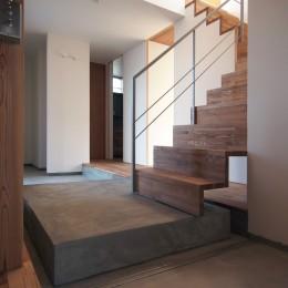橋本の住宅 / 土間と縁側