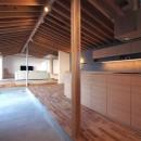 橋本の住宅 / 土間と縁側の写真 LDK / 土間