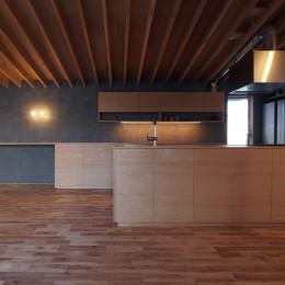 ダイニング/ キッチン (橋本の住宅 / 土間と縁側)