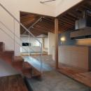橋本の住宅 / 土間と縁側の写真 玄関土間 / LDK