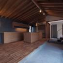 橋本の住宅 / 土間と縁側の写真 ダイニング / キッチン / 土間