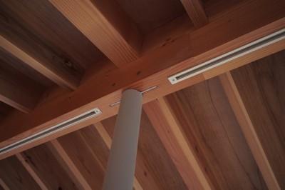 LDK 天井 (橋本の住宅 / 土間と縁側)