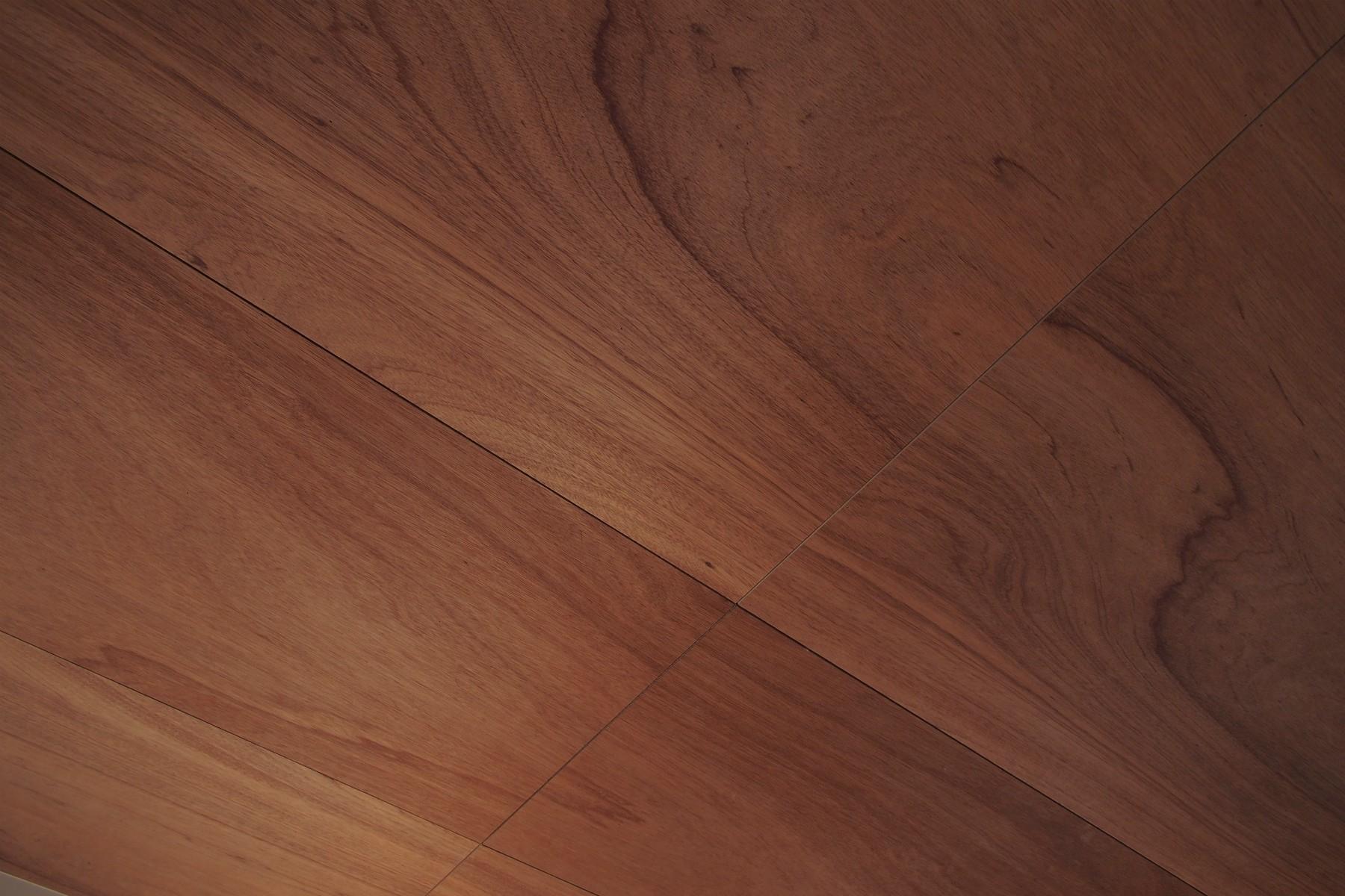 ベッドルーム事例:天井 / ラワン合板(橋本の住宅 / 土間と縁側)