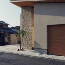 大津の住宅 (外観)