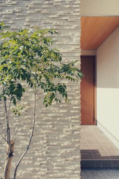 外観 / 玄関ポーチ (大津の住宅)
