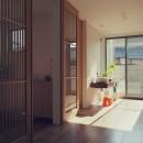 大津の住宅の写真 玄関ホール / フリースペース