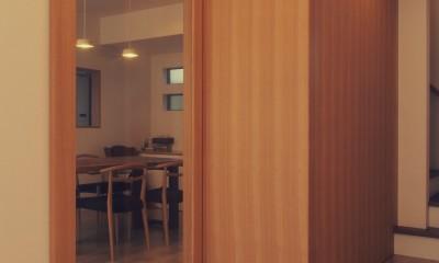 大津の住宅 (フリースペース / 玄関ホール)
