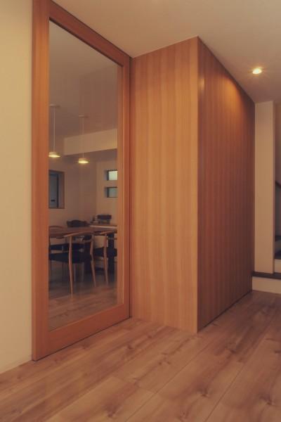 フリースペース / 玄関ホール (大津の住宅)