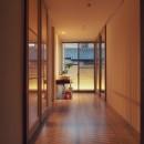 大津の住宅の写真 スリースペース / 玄関ホール / 緩衝空間