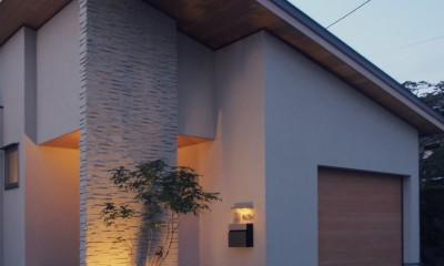 外観 / 玄関ポーチ|大津の住宅