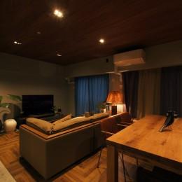 house 094 / マンションリノベーション (LDK)