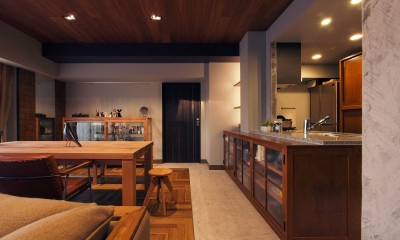 house 094 / マンションリノベーション (キッチン / ダイニング)