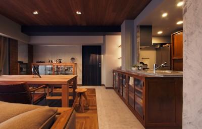 キッチン / ダイニング (house 094 / マンションリノベーション)