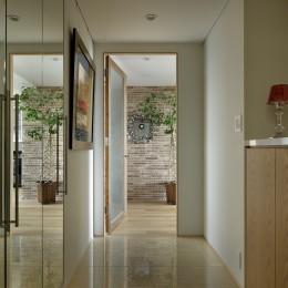 House-S Renovation / シニア世代のマンションリノベーション (玄関)