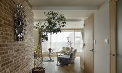 House-S Renovation / シニア世代のマンションリノベーション (リビング)
