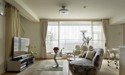 リビング|House-S Renovation / シニア世代のマンションリノベーション