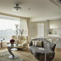 LDK (House-S Renovation / シニア世代のマンションリノベーション)