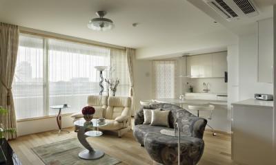 House-S Renovation / シニア世代のマンションリノベーション (LDK)