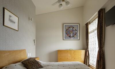 House-S Renovation / シニア世代のマンションリノベーション (寝室)