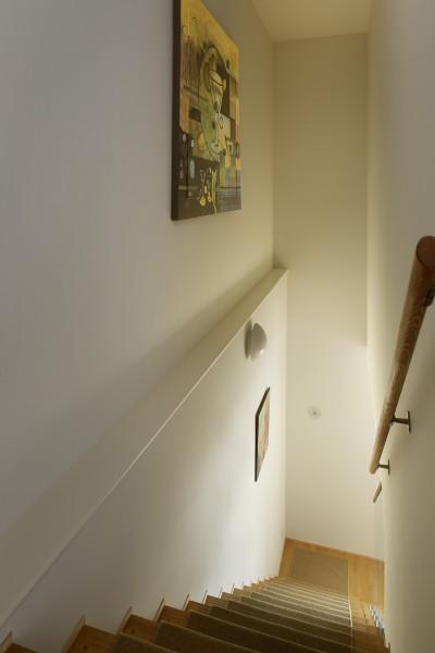 階段 (House-S Renovation / シニア世代のマンションリノベーション)