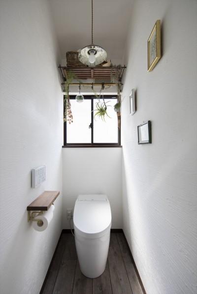 トイレ (S邸_始まりはキッチンから…)