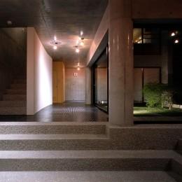 目黒の都市型住宅