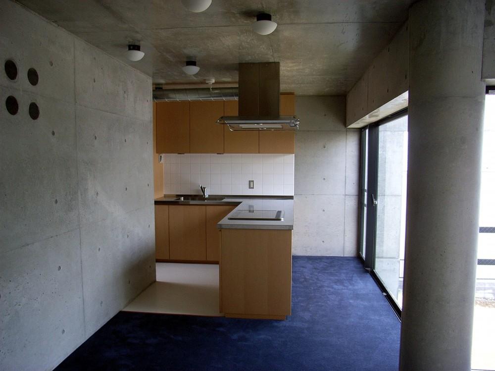 目黒の都市型住宅 (キッチン)