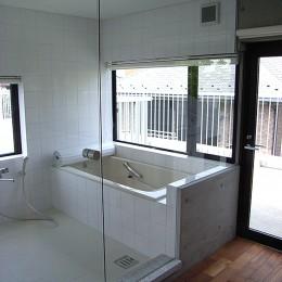 目黒の都市型住宅 (浴室)