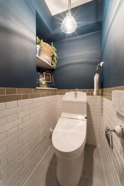 トイレでさえ長居したくなるようなお気に入り空間。 (MyRENO JOINT WORK WITH DULTON)