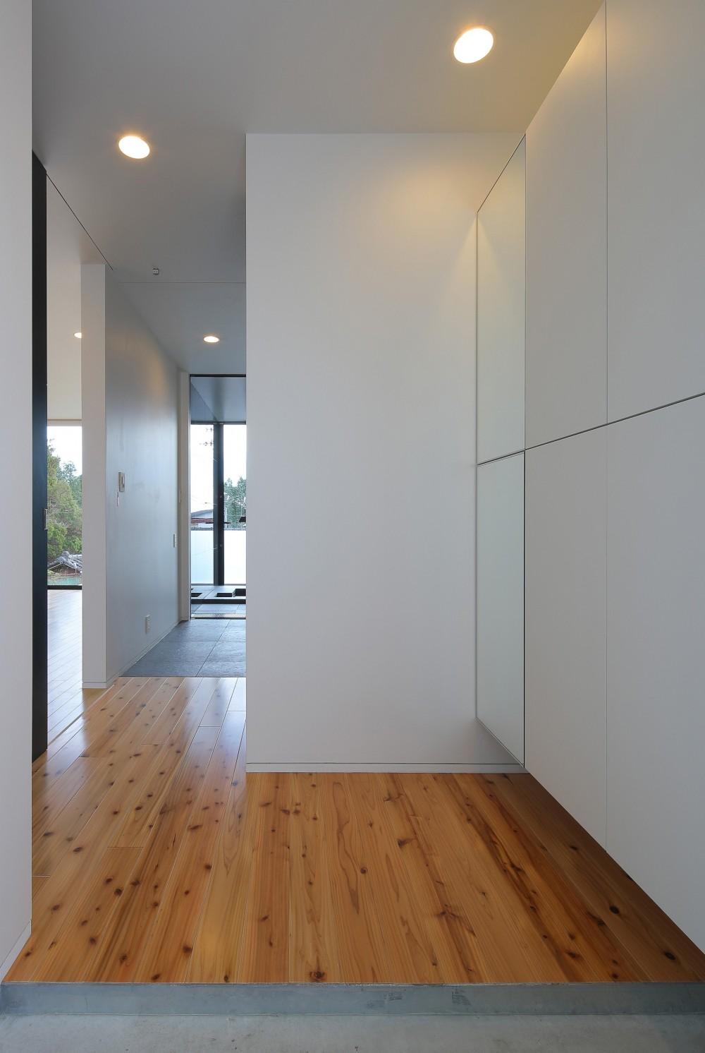 霧島の住宅 (玄関ホール)