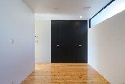 寝室1 (霧島の住宅)
