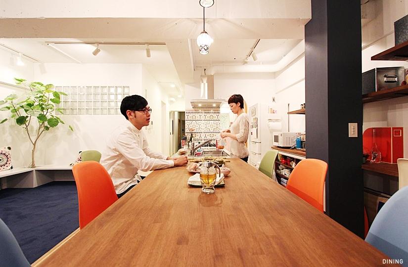 凹凸の集いの部屋 DINING3