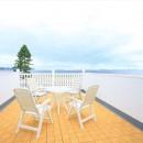 Ocean front House(オーシャン フロント ハウス)海を見て暮らす家の写真 海を見渡す大型バルコニー