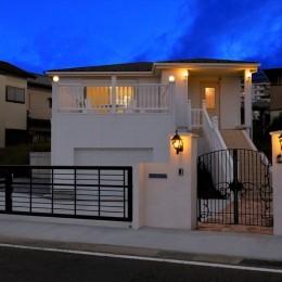 Ocean front House(オーシャン フロント ハウス)海を見て暮らす家 (外観&外構)