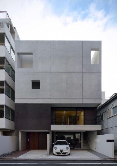 外観 (Double Wall House / ダブルウォールハウス)