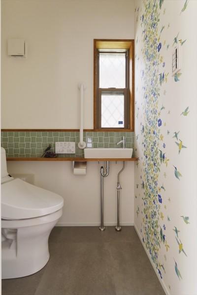トイレ (T邸_Maison du Musée)