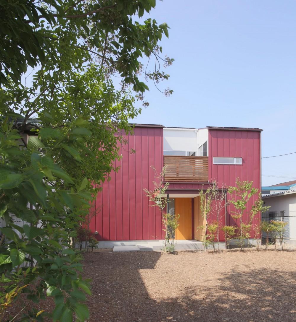赤の家・RED HOUSE (外観2)