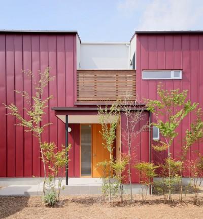 外観3 (赤の家・RED HOUSE)