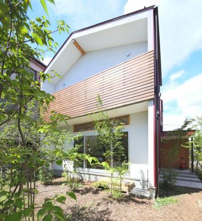 外観4 (赤の家・RED HOUSE)